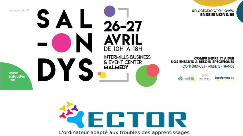 Ector à Malmedy (Belgique) les 26 et 27 avril 2019